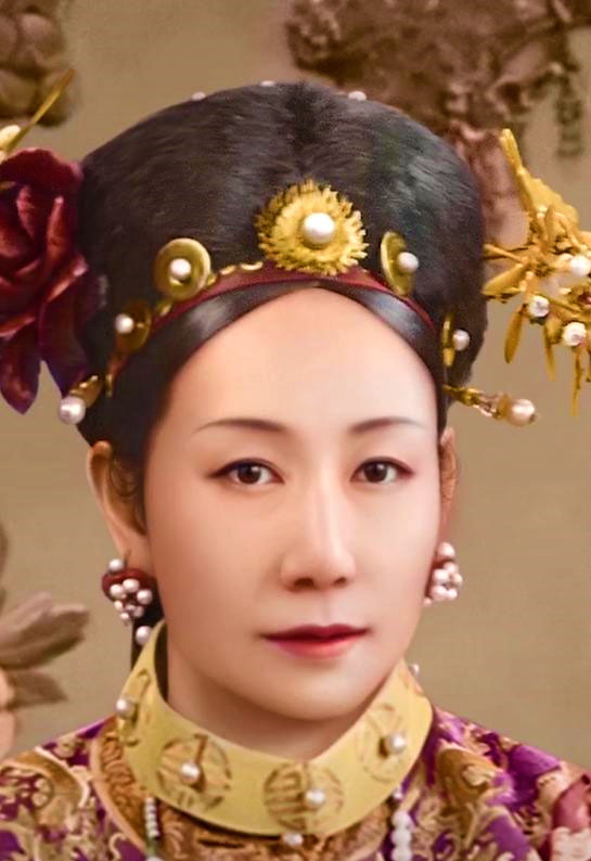 Young Cixi, Restored Image