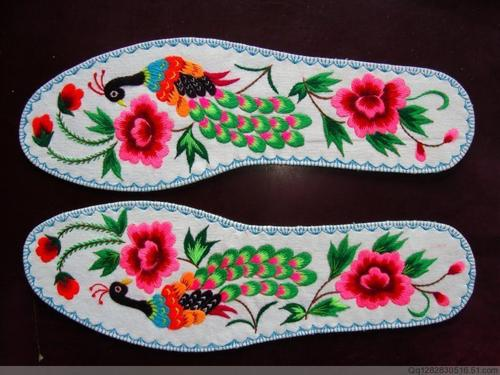Embroidered Insole